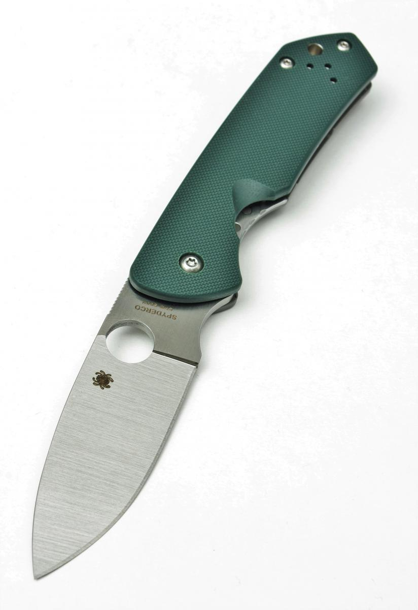 The Spyderco Brouwer Folder - European Blades