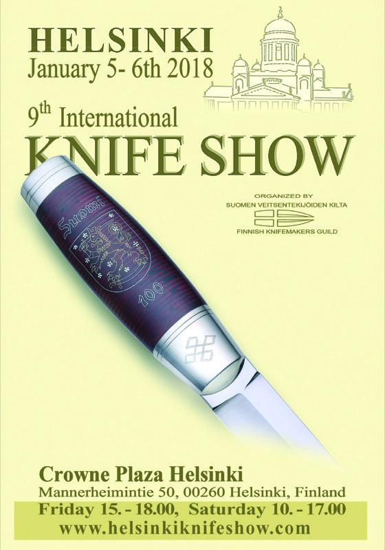 Helsinki Knife Show 2018 - European Blades